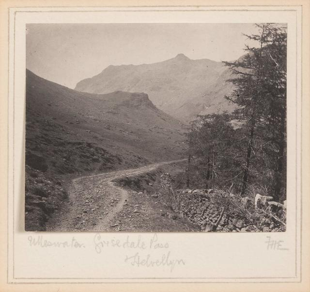 Frederick D. Evans, 'Ulleswater, Grisedale Pass, Helvellyn', circa 1900, Doyle