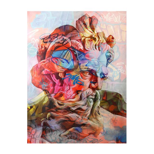 PichiAvo, 'Poseidon Lefkos', 2019, Station 16 Gallery