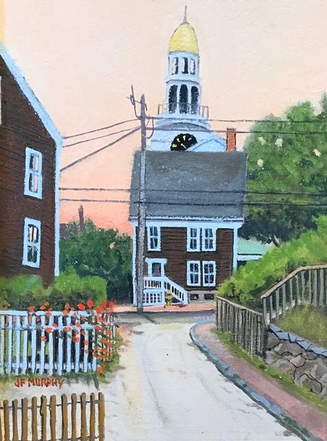, 'Time on Nantucket,' , Addison Art Gallery