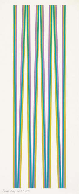 , 'Untitled [Elongated Triangles 4],' 1971, Karsten Schubert