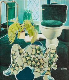 Green Fern Bathroom