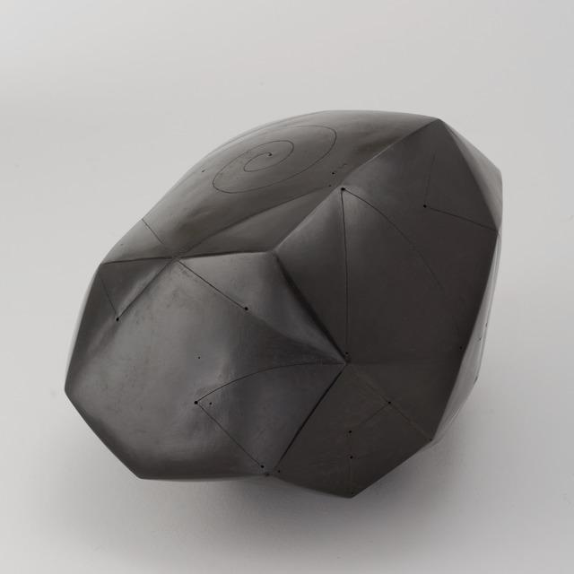 , 'Polyèdre noir,' 2014, Maison Gerard