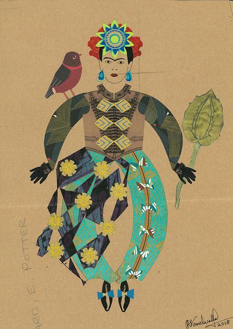 , 'Frida and bird,' 2018, Emmanuelle G Gallery