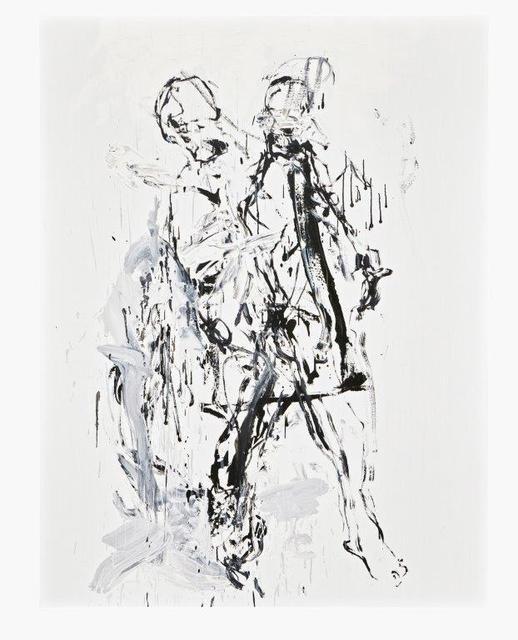 Klaus Prior, 'Umschlungen 2015', 2015, Painting, Oil on canvas, GALERIE URS REICHLIN