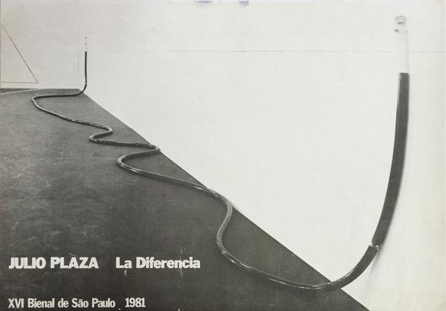 , 'La Diferencia,' 1981, Galeria Marília Razuk