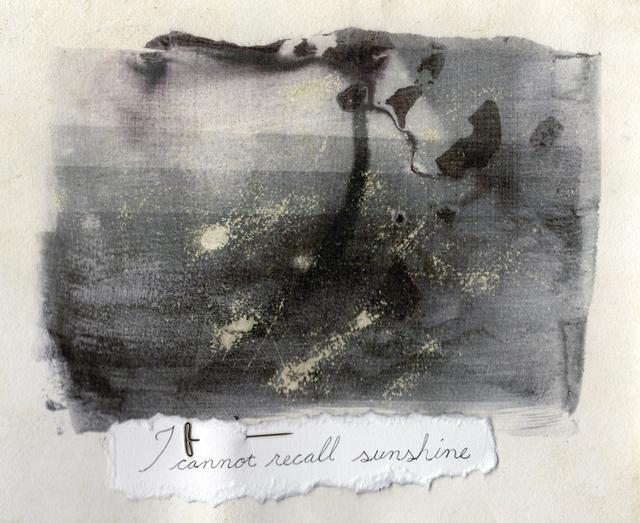 , 'I cannot recall sunshine,' 2019, 440 Gallery