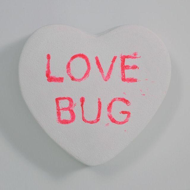 Peter Anton, 'LOVE BUG - Conversation Candies - White ', 2019, Sculpture, Mixed media, Samuel Owen Gallery