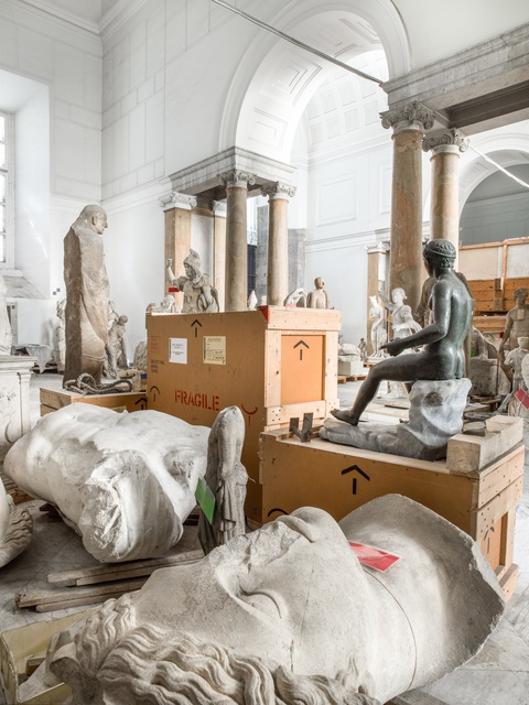 , 'Treasure Rooms of the Museo Archeologico Nazionale - Naples,' 2015, Robert Mann Gallery