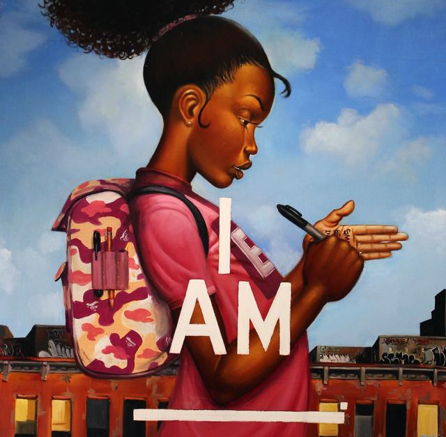 , 'I, Am,' 2017, Richard Beavers Gallery