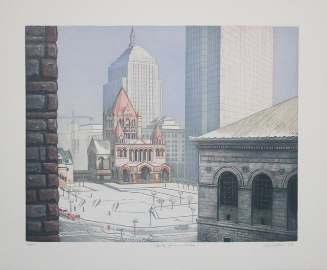 Richard Haas, 'Copley Square, Boston', 1993, Sylvan Cole Gallery