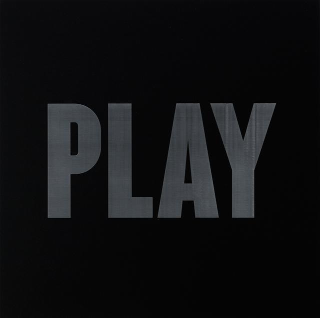 , 'Play,' 2016, Galleria Ca' d'Oro