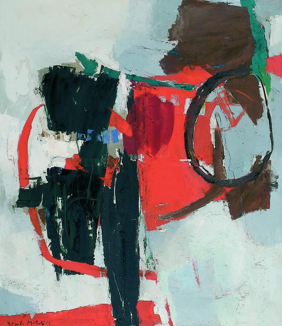 , 'Composiçâo preto e vermelho,' , Dan Galeria