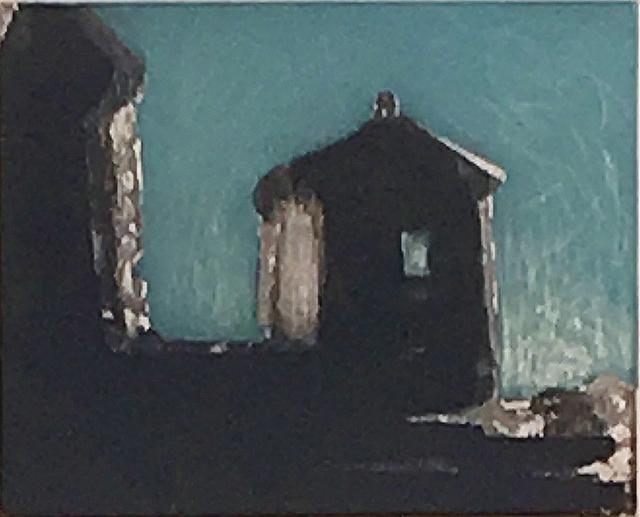 , 'Blue Boat House,' 1999, Lawrence Fine Art