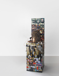 Thomas Hirschhorn, 'Nail Sculpture (grey),' 2003, Phillips: New Now (December 2016)