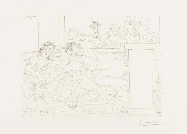 Pablo Picasso, 'Repos du sculpteur (Bloch 174)', 1933, Forum Auctions