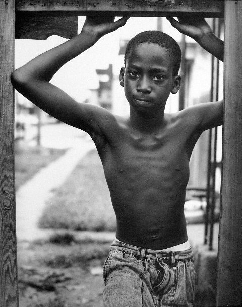 , 'Looking Out, 3rd Ward, Houston, Texas,' 1991, PDNB Gallery