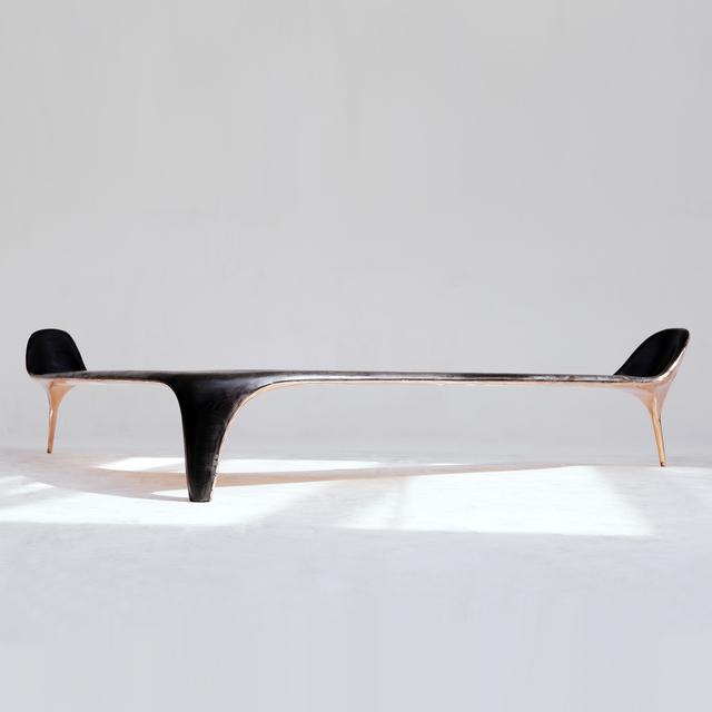 Valentin Loellmann, 'Copper Corner Bench', 2019, Twenty First Gallery
