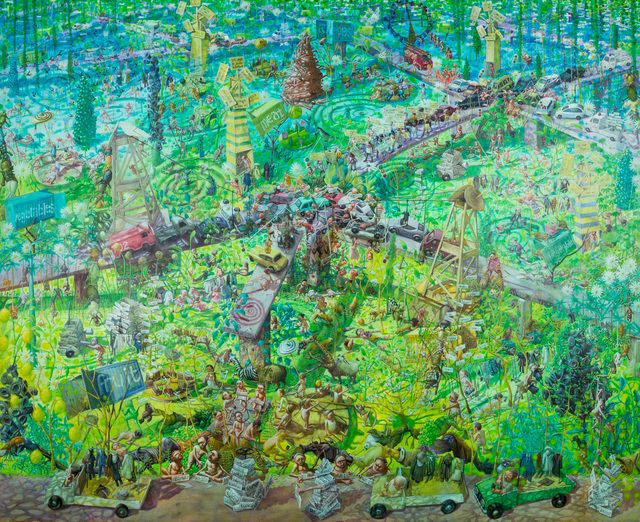 , 'People are Maps,' 2017, Ronald Feldman Gallery
