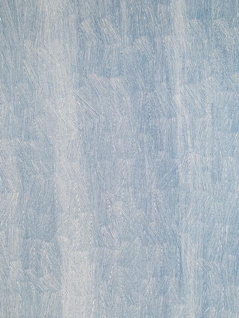 , '59-18 White on Light Blue,' 2018, Charles Nodrum Gallery