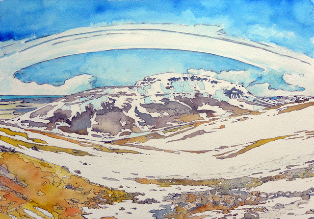 , 'Milli Himins og Jarðar (Between Heaven and Earth),' 2016, HATHAWAY | Contemporary Gallery