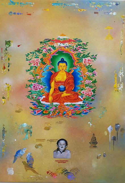 , 'Panchen Lama,' 2016, Dominik Mersch Gallery