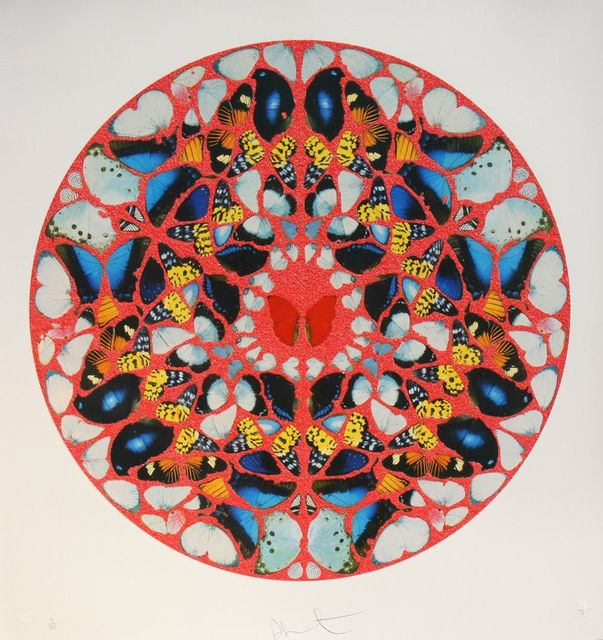 Damien Hirst, 'Psalm print, domine ne in fuore (diamond dust)', 2010, David Benrimon Fine Art