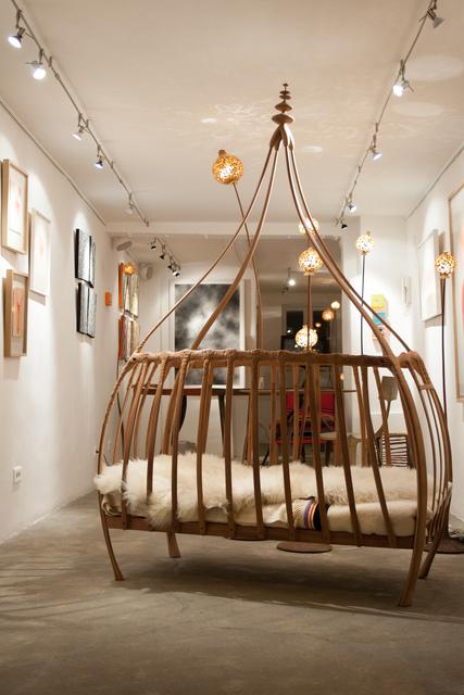 , 'Hazel bed,' 2015, Antonine Catzéflis