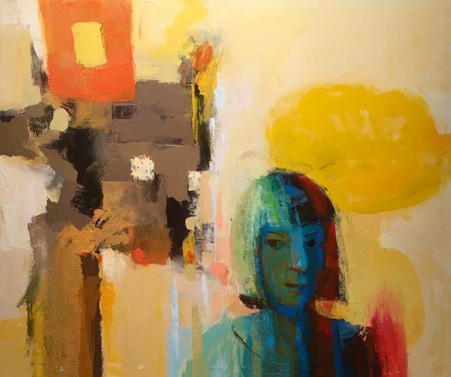 Jonathan Sobol, 'Portrait of an Abstract Artist', 2018, M.A. Doran Gallery