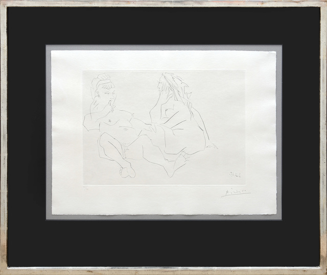 Pablo Picasso, 'Deux femmes III. (Two Women III.)', 1965, Peter Harrington Gallery