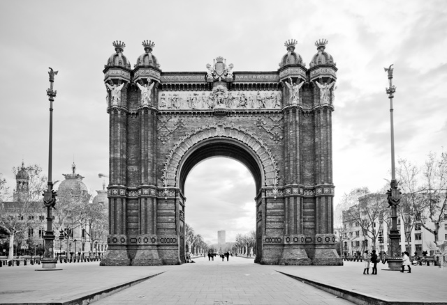 , ''Arc de Trionf' Barcelona,' 2015, Chainlink Gallery
