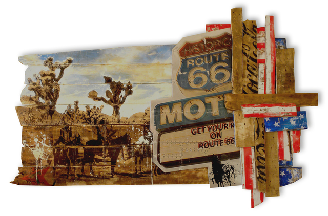 , 'Route 66,' 2015, Eden Fine Art