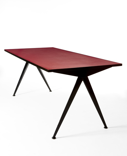 "Jean Prouvé, '""Compas"" table ,' , 1950"