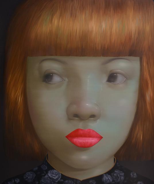 , 'Girl with the Golden Hair,' 2014, Adler Subhashok Gallery Bangkok