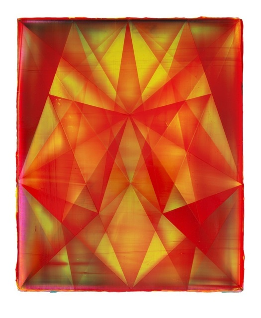 , 'Rhombus (Fire),' 2013, Jessica Silverman Gallery