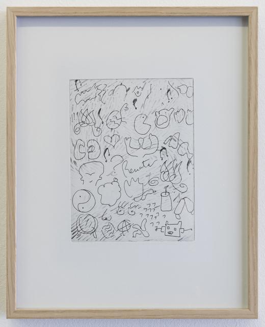 , 'Untitled / visuales mnemonicas (m4l),' 2016, Nogueras Blanchard