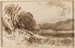 William M. Hart, 'Hilly Landscape with Trees', 1855, National Gallery of Art, Washington, D.C.