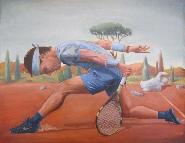 , 'Player on Red Clay ,' 2018, Court Tree Gallery