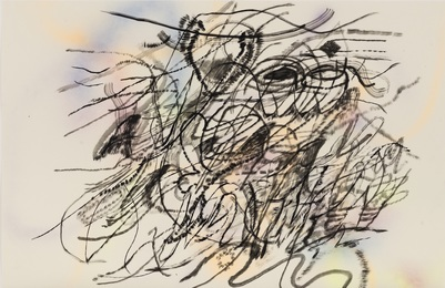 Mind-Wind Fusion Drawings #5, 2019