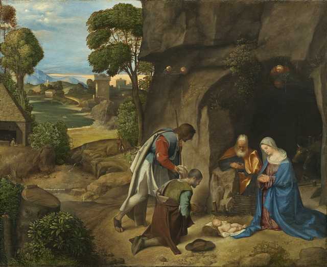 Giorgione, 'Adoration of the Shepherds,' 1505-1510, National Gallery of Art, Washington, D.C.