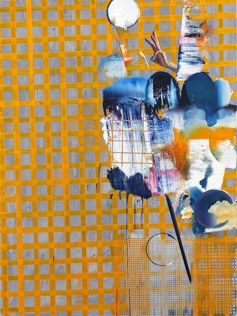 Rayk Goetze, 'Fingerzeig', 2020, Painting, Oil and acrylic on canvas, Josef Filipp Galerie