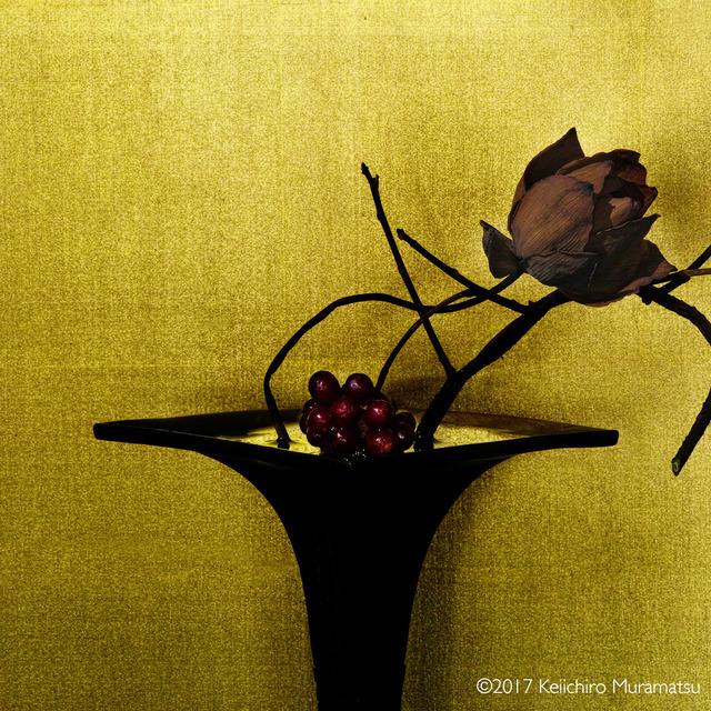 Keiichirô Muramatsu, 'scarlet kadsura / lotus', 2017, Galerie Marie-Robin