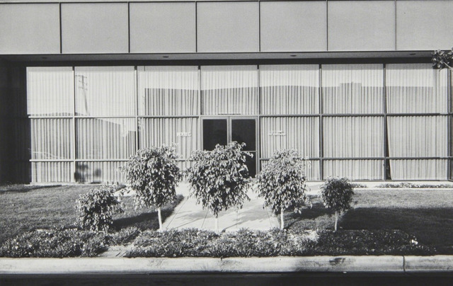 , 'New Industrial Parks #37: East Wall, Business Systems Division, Pertec, 1881 Langley, Santa Ana,' 1974, Bruce Silverstein Gallery