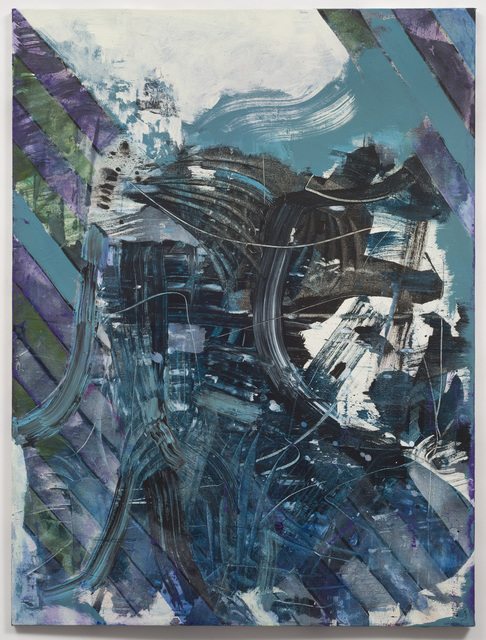 , 'Blue Cologne,' 2014, Anthony Meier Fine Arts
