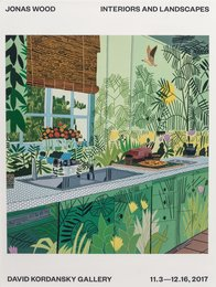Interiors and Landscapes Show Poster