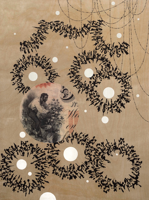 , 'On the Money 1,' 2016, Lora Schlesinger Gallery