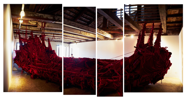 , 'Shoal (Installation view),' 2015, 56th Venice Biennale
