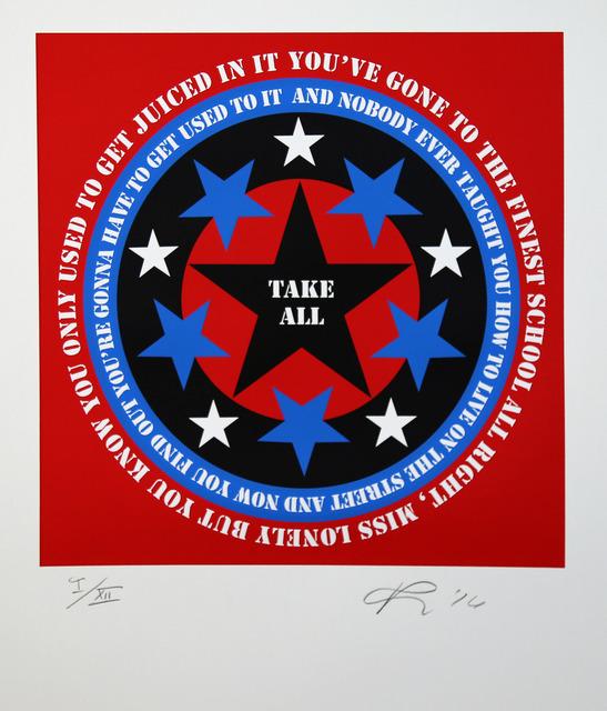 , 'Take All (Bob Dylan Suite),' 2016, Rosenbaum Contemporary