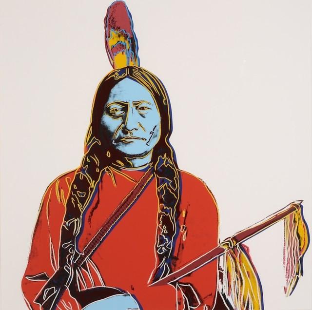 Andy Warhol, 'Cowboys and Indians: Sitting Bull (FS.II.376)', 1986, Taglialatella Galleries