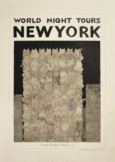 Hideo Takeda, 'NEW YORK', 2014, Ronin Gallery