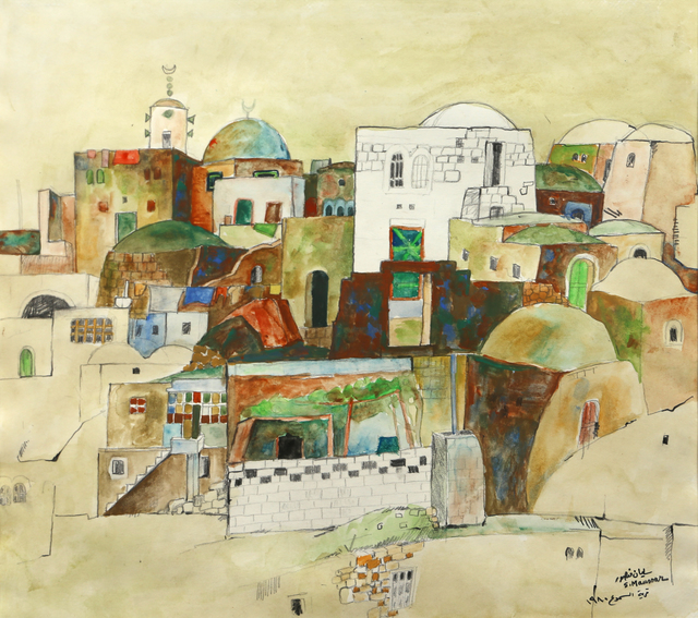 , 'Al Samoo' Village,' 1980, Gallery One